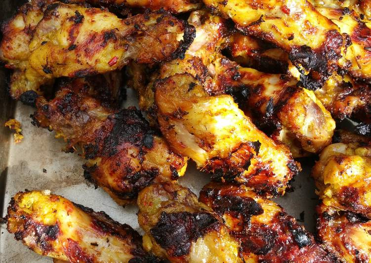 Permalink to Easiest Way to Make Tasty Grilled Lemongrass Chicken Wings