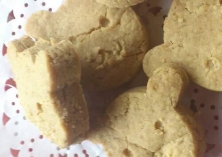 Recipe of Speedy Macrobiotic Barley Flour Cookies