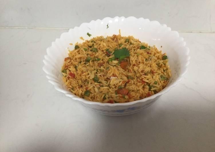 Stir fry oriental rice