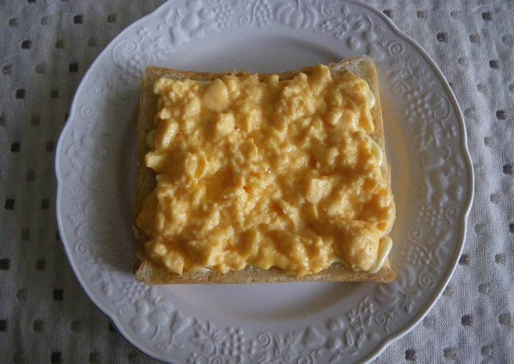 Egg Toast In The Microwave Recipe