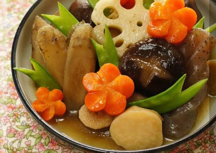 For New Year's Seven Treasure Stew (Chikuzen-ni)