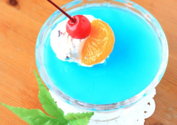 How to Boost Your Mood with Food Cheery Milky Way Jello for Tanabata