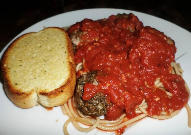 Simple Way to Make Homemade Spaghetti and Meatballs