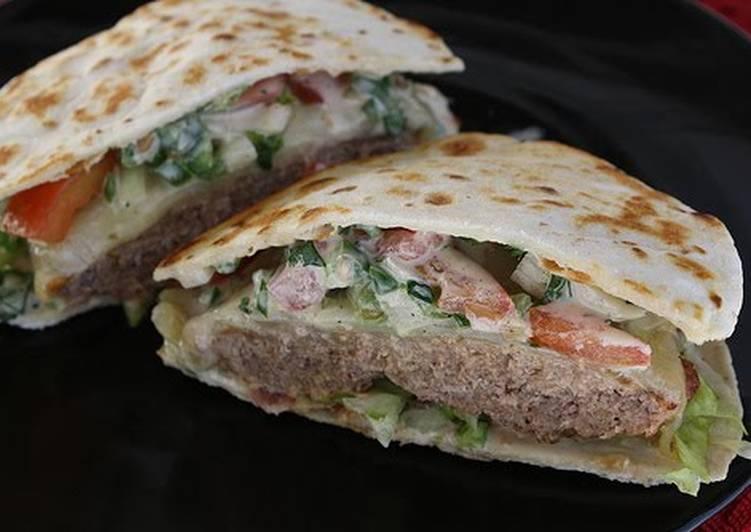 Simple Way to Make Award-winning Applebee's Quesadilla Burgers