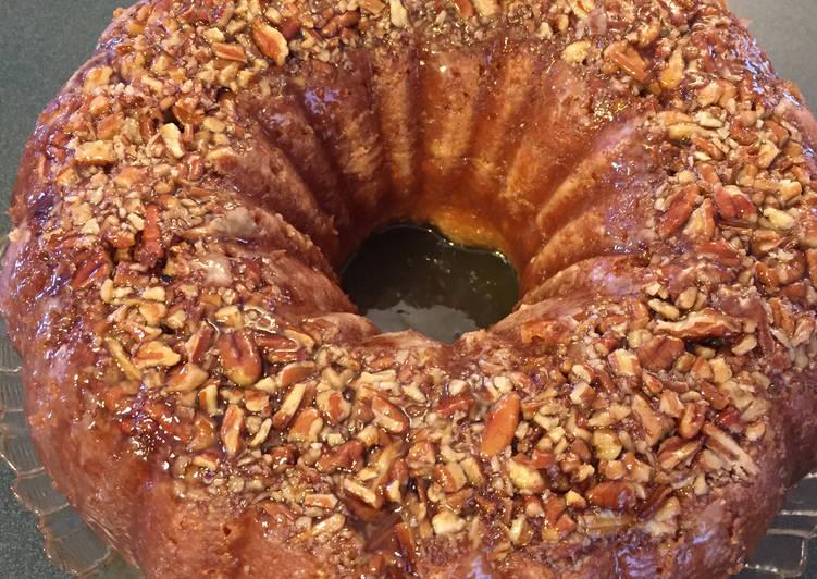 Simple Way to Make Speedy Rum Cake