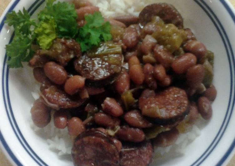 Crockpot Louisiana Red Beans and Rice