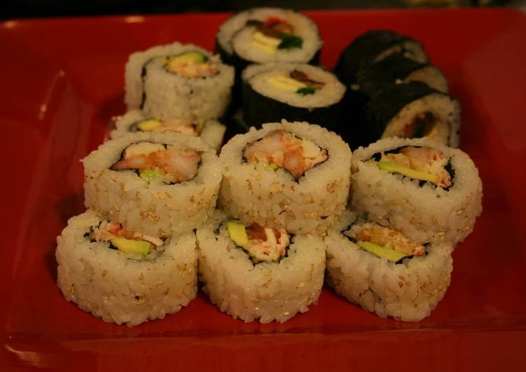 California Roll With Shrimp