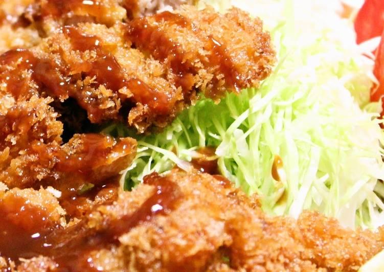 Steps to Prepare Homemade Large Chicken Katsu