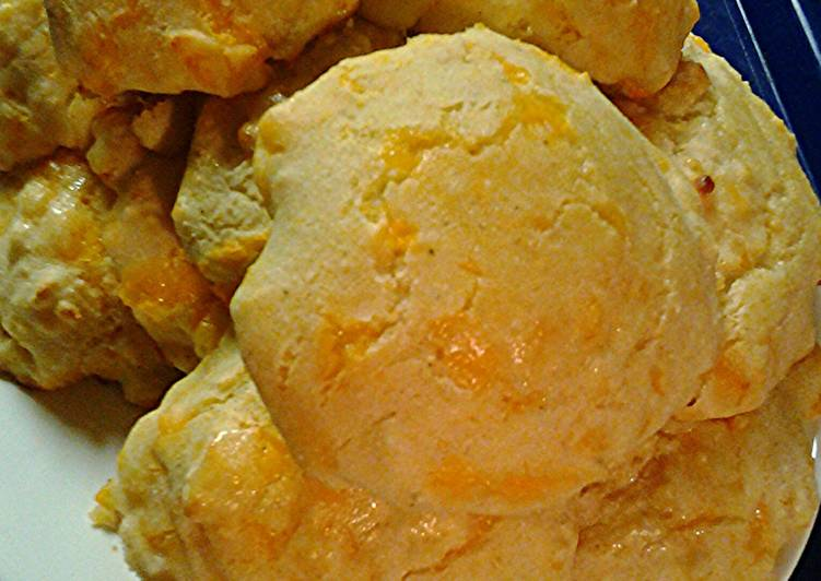 Easy Homemade Corn cheddar cheese biscuits Recipe