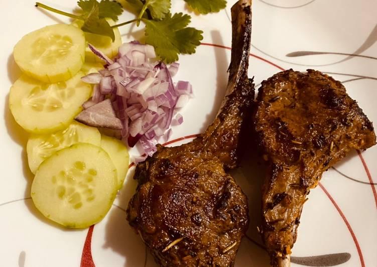 Lamb sirloin chops