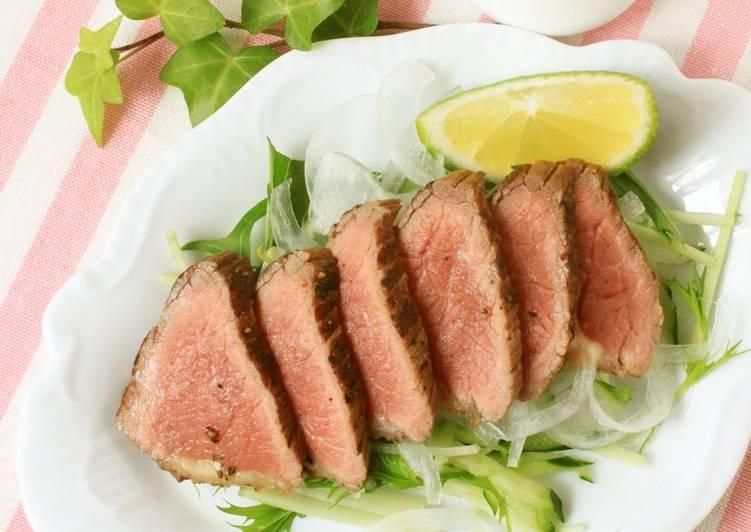 "3 Ingredient ""Roast Beef"" in 15 Minutes"