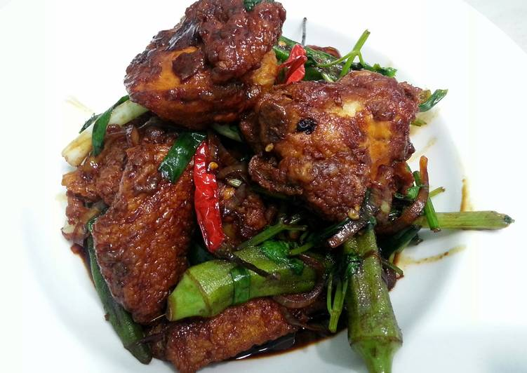 Spicy Chicken With Okra