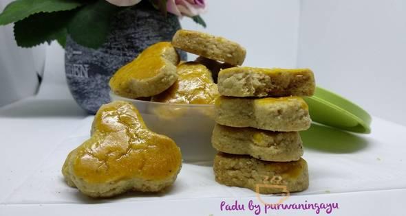 Resep Vanilla Cashew Cookies Kue Kering Kacang Mete Vanila 3 Piring Sehari