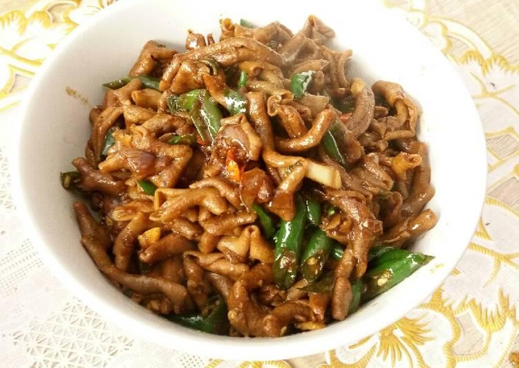 Resep Tumis Usus Ayam Pedas Oleh Devi Fitriana Cookpad