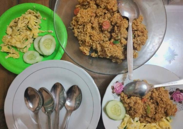 Resep Nasgor blackpepper simple Bikin Ngiler