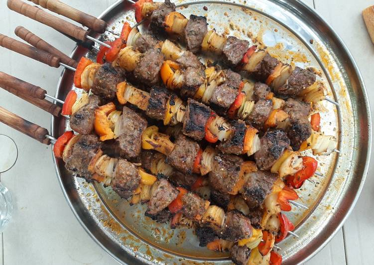 Easiest Way to Make Tasty Brochettes de Boeuf