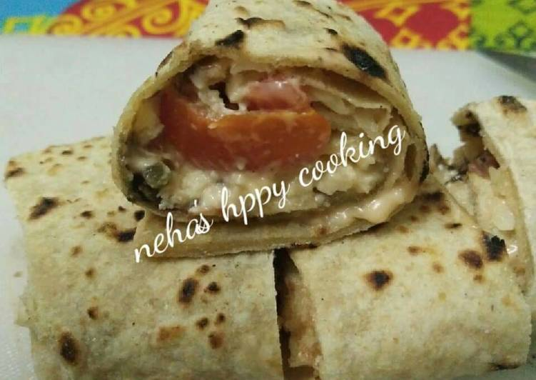 Chapati pinwheel