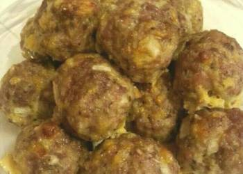 How to Recipe Perfect Portuguese cheese Italian sausage and pork meatballs