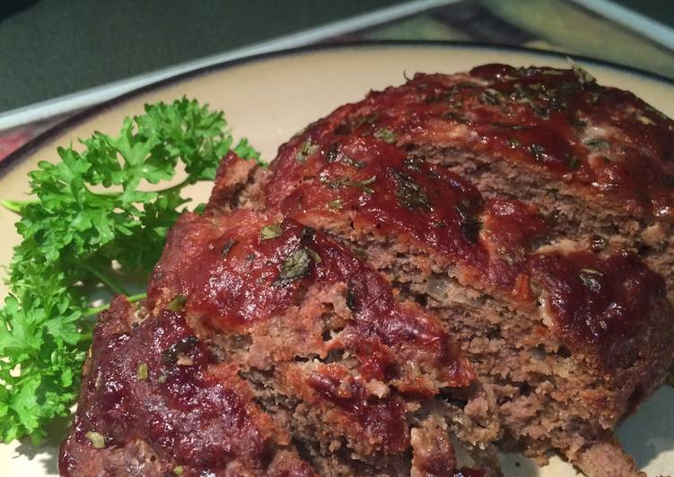 Barbecue Bison Meatloaf