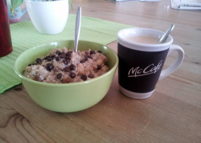 Steps to Make Perfect low calorie breakfast