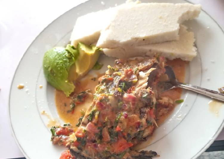 Creamy Wet fry fish