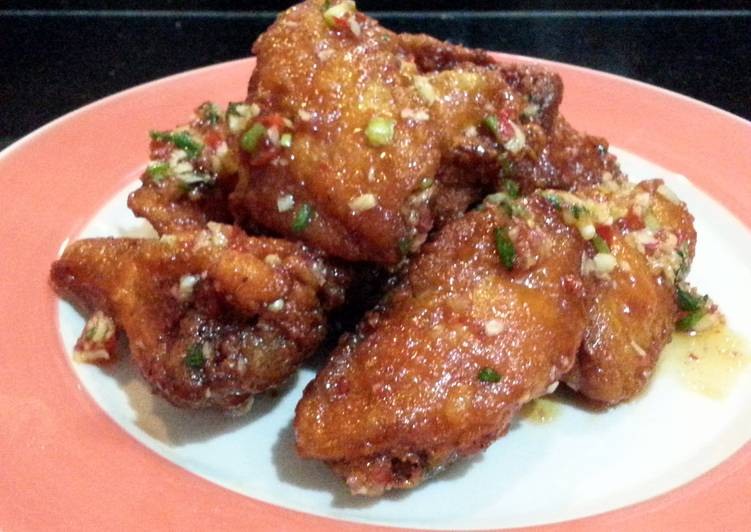 Chinese Buffalo Wings With Thai Sweet Chili Flavour Choosing Fast Food That's Good For You