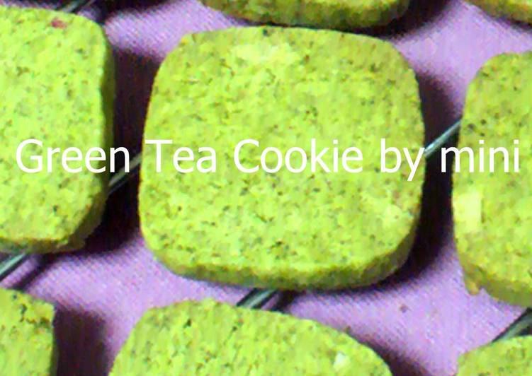 Simple Way to Make Perfect Matcha Cookies