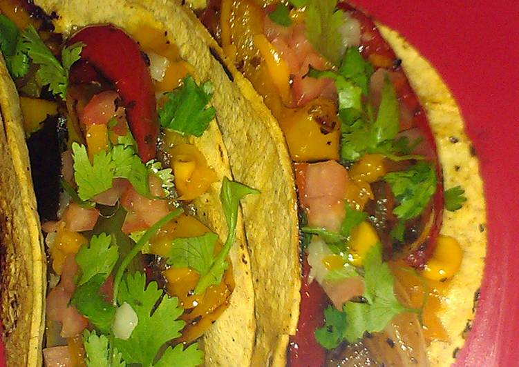 Tequila Lime Veggie Tacos