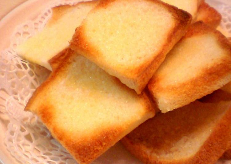 How to Elevate Your Mood with Food Easy Rusk with Sandwich Bread in 5 Minutes
