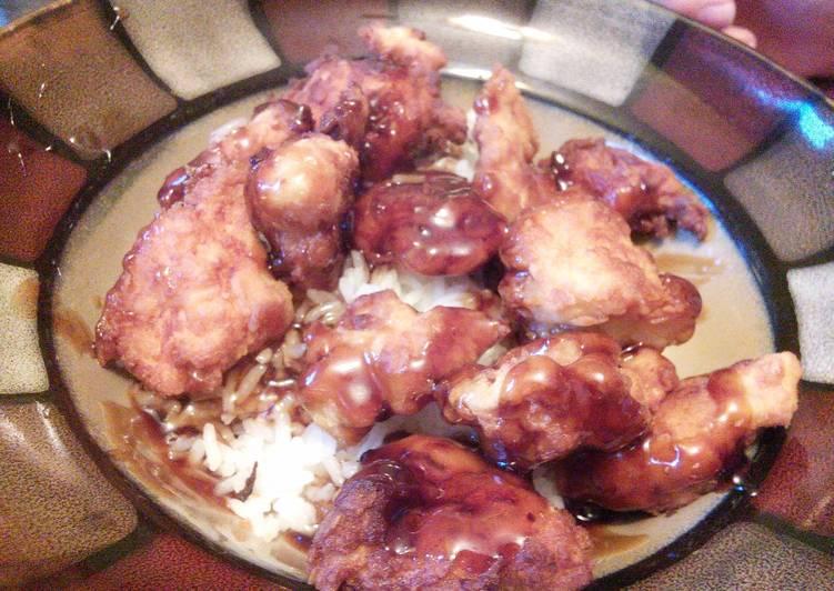Recipe of Super Quick Homemade Asian Honey Chicken