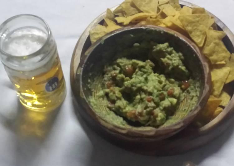 Recipe of Award-winning Basic Guacamole