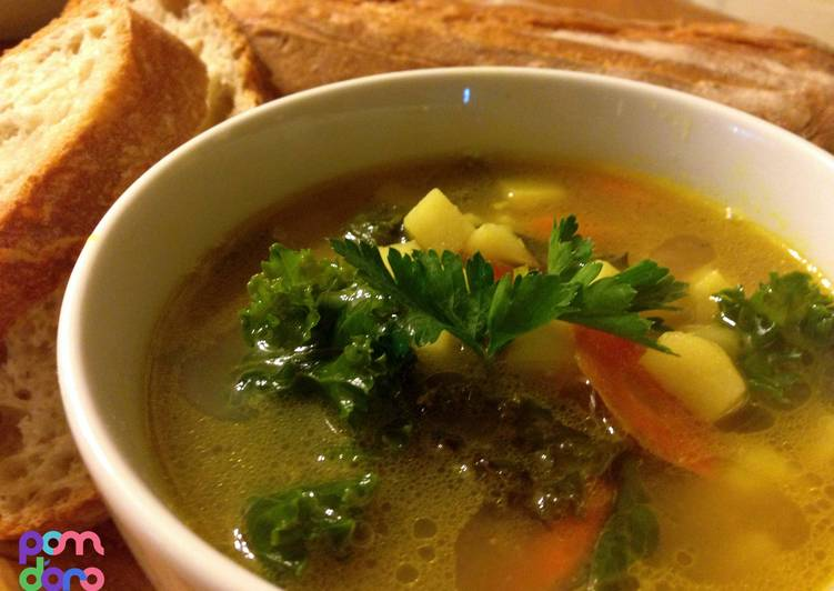 Kale Potato Soup, Deciding on Healthy and balanced Fast Food