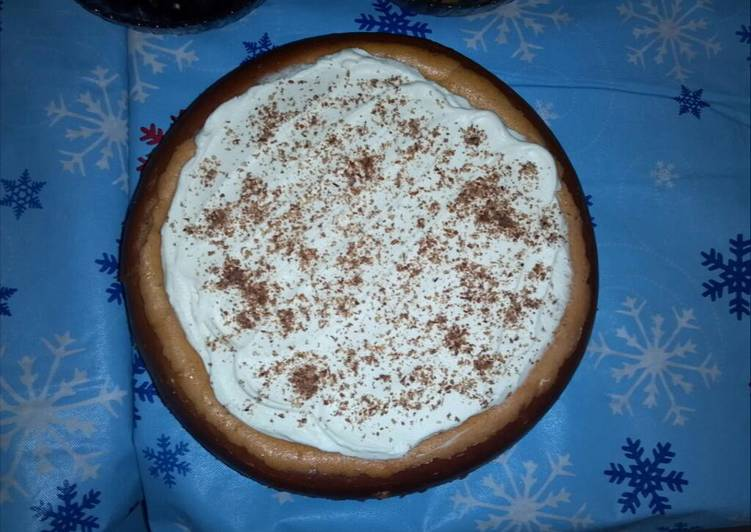 Grandma's Old Fashioned Pumpkin Cheesecake