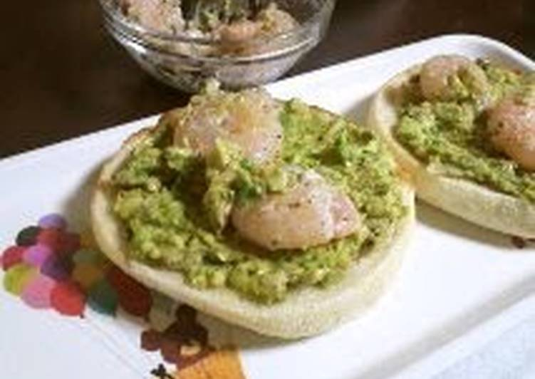 5 Minute How to Prepare Speedy English Muffin Avocado Sandwich