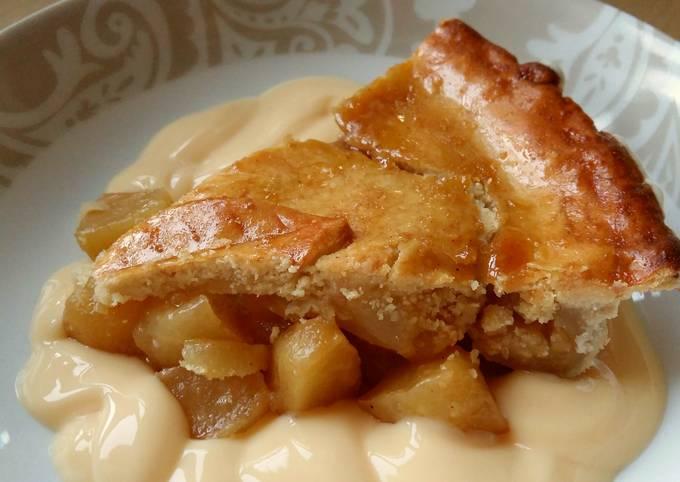 Vickys Caramel Apple Pie, GF DF EF SF NF
