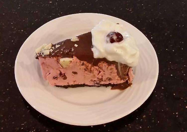Fresh Cherry No Bake Cheesecake