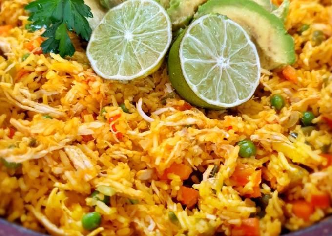 Arroz con pollo colombiano - Reis mit Hähnchen
