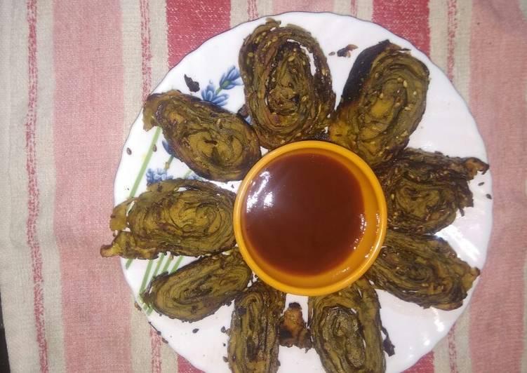 How to Make Award-winning Crispy yummy Taro leaves vadi
