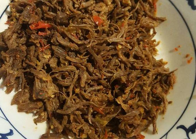 Resep Daging Suwir Pedas Oleh Piyantina Cookpad