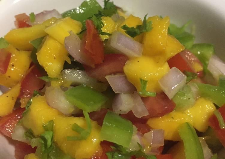 Step-by-Step Guide to Prepare Super Quick Homemade Mango salsa
