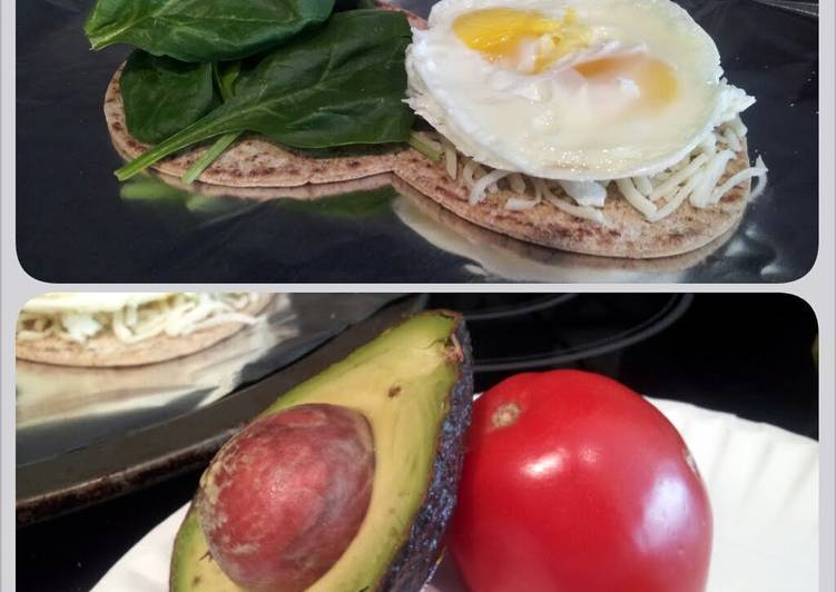 Easiest Way to Make Award-winning Spinach & Egg Breakfast Sandwich
