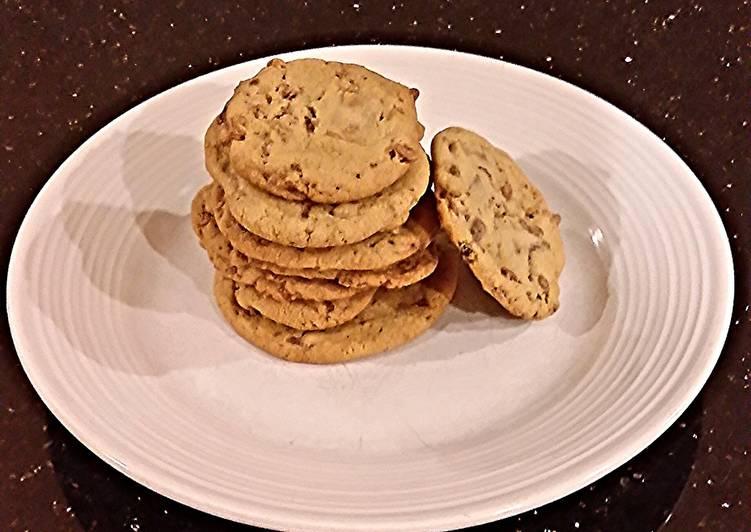 Toffee Crisp Cookies