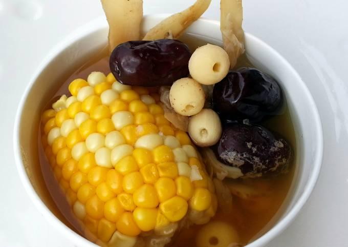 Recipe of Ultimate Vegan Soup With Corn Cob