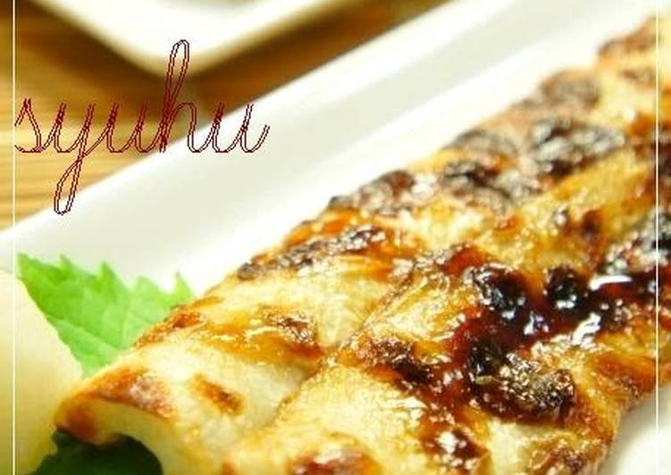 5 Minute Easiest Way to Make Cooking Eel Kabayaki with Grilled Chikuwa