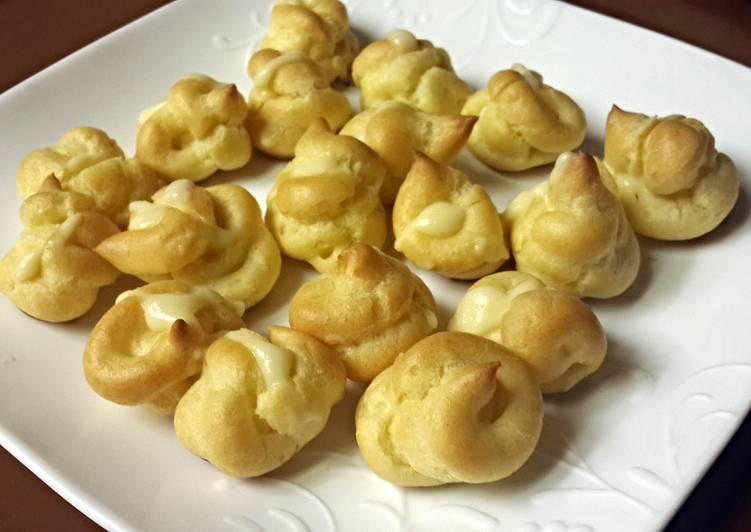 Easy Yummy Cream Puffs