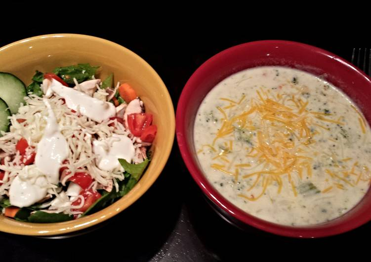 Quick Tips Cream of broccoli soup with cheese
