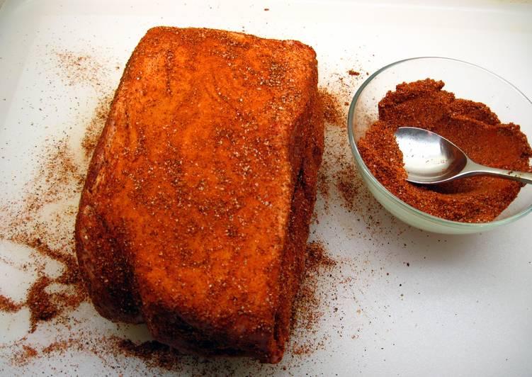 Pork Sholder Dry Rub