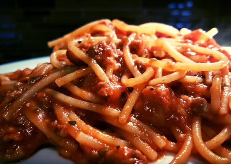 Recipe: Perfect Meat sauce for spaghetti