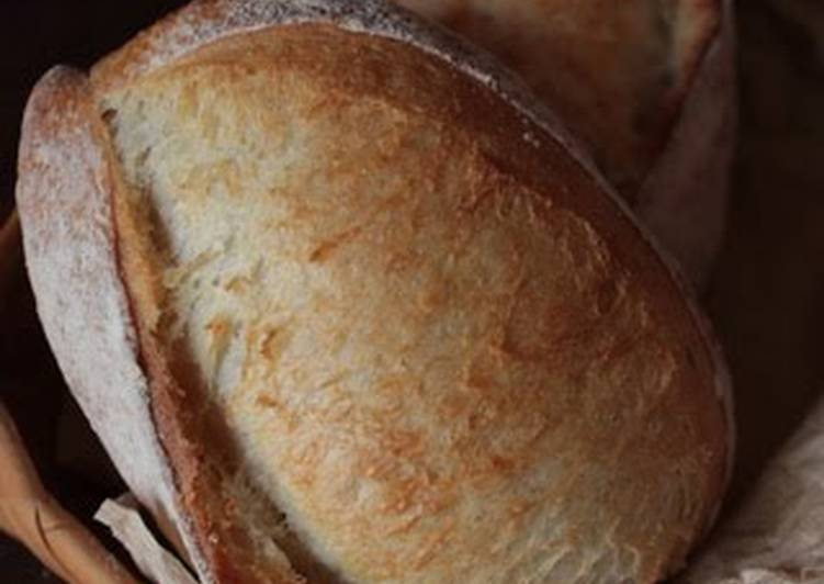 Step-by-Step Guide to Prepare Any-night-of-the-week Homemade Yeast French Bread (Using Straight Starter)
