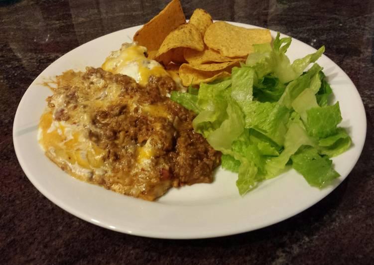 Recipe of Quick Beefy Tortilla Casserole
